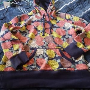 Boden floral hoodie